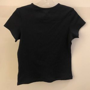 All Access Tops - All Access black ribbed SS top, sz M, 70919